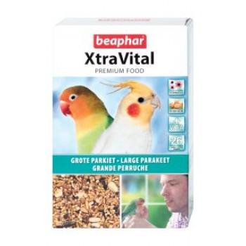 Beaphar / Беафар Корм «Xtra Vital» д/крупных попугаев, 1кг