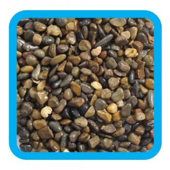 Laguna / Лагуна 20205B Грунт натуральный темно-коричневый меланж, 4-6мм