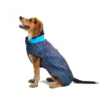 Dog Gone Smart / Дог Гон Смарт Нано плащ-дождевик, флисовая подкладка Nanobraker 61 см, синий