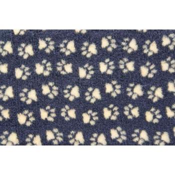 ProFleece коврик меховой 1х1,6м угольный/желтый