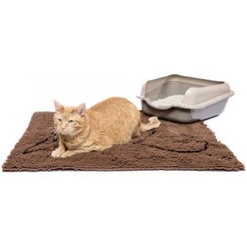 Dog Gone Smart / Дог Гон Смарт коврик д/кошек супервпитывающий S, 40,5*58,5см коричневый