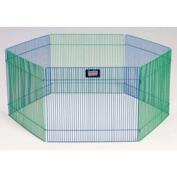 Midwest / Мидвест вольер 6 панелей 38х48h см цветной для грызунов
