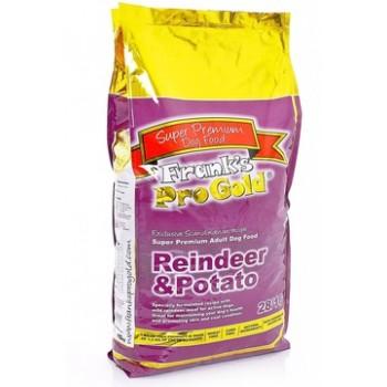 Frank's ProGold / Франкс ПроГолд для собак с олениной и картофем (Reindeer/Potatoe) 3 кг