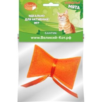 Великий Кот Игрушка д/кошек Бантик с кошачьей мятой 5см (GC430)