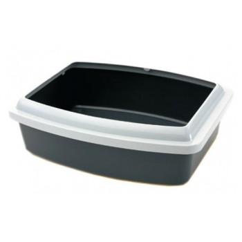 Savic / Савик Туалет для кошек OVAL TRAYS Jumbo cо съемным бортом 55х43х12+55х43х4 (1х12) 209