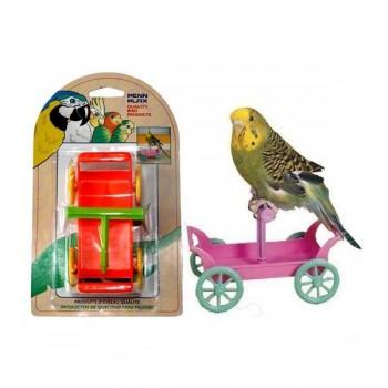 Penn-Plax / Пен-Плакс Игрушка для птиц Тележка с жердочкой (1х12) ВА536