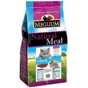 MEGLIUM / МЕГЛИУМ Adult Корм сух.3кг для кошек с чувствительным пищеварением рыба MGS0203