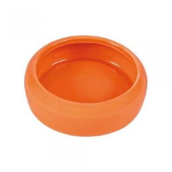 Trixie / Трикси 60742 Миска керамическая для морской свинки 200мл диаметр 10см