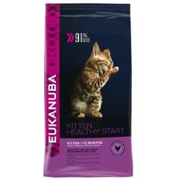 EUKANUBA / Еукануба Cat корм для котят с курицей 10 кг