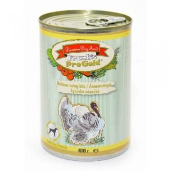 """Frank's ProGold / Франкс ПроГолд Консервы для собак """"Аппетитные кусочки индейки"""" 0,41 кг"""