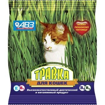 Травка для кошек пакет 30 гр