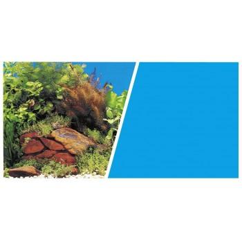 Hagen / Хаген фон Растения на камнях/Голубой 30см 7.5 м