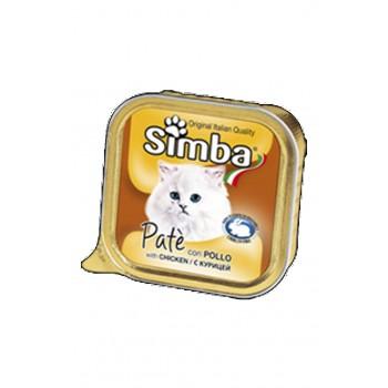 Simba / Симба Cat консервы для кошек паштет курица 100 г
