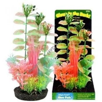 Penn-Plax / Пен-Плакс Растение-композиция GLOW PLAN 22см светящееся AJPG41