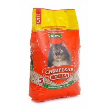 Сибирская Кошка Экстра 5л для длинношерстных