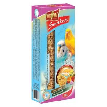 Vitapol / Витапол Smakers 3 в 1 (яйцо/мёд/фрукты) для волнистых попугаев