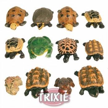 """Trixie / Трикси Набор гротов """"Черепахи и лягушки"""" 5-8см*12шт 8971"""