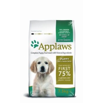 """Applaws / Эпплаус для щенков малых и средних пород """"Курица/овощи: 75/25%"""" 7,5 кг"""