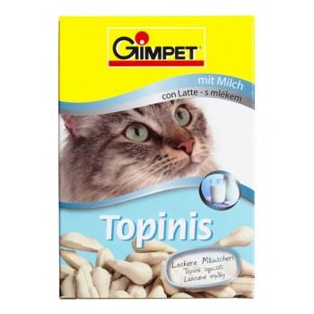 """Gimpet / Гимпет ВитаМиниз. лакомство """"Мышки"""" с молоком д/кошек, 190 шт 220 г"""