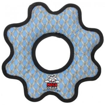 Tuffy / Таффи Супер прочная игрушка для собак Шестеренка, узор решетка, прочность 10/10