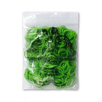 Lainee / Лайни резинки упаковочные зеленые 1/8 уп.