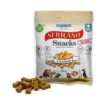 Serrano / Серрано Snacks Лакомство для Собак снеки из Курицы 100 гр