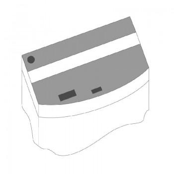 Juwel / Ювель Комплект пластиковых крышек для Vision 450, 2шт черный