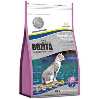 Bozita / Бозита Funktion Sensitive Hair&Skin сух.корм д/кошек с чувствительной кожей и шерстью 400гр