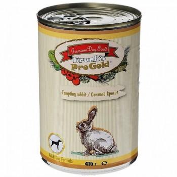 """Frank's ProGold / Франкс ПроГолд Консервы для собак """"Сочный кролик"""" 0,41 кг"""