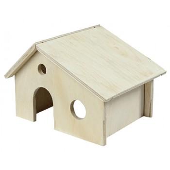 Yami-Yami / Ями-Ями Домик для грызунов деревянный (8551)