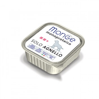 Monge / Монж Dog Monoproteico Solo консервы для собак паштет из ягненка 150г