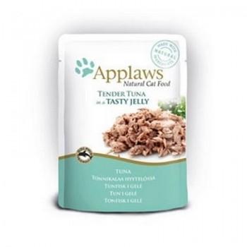 "Applaws / Эпплаус паучи для кошек ""Кусочки тунца в желе"" 0,07 кг"