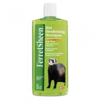8in1 шампунь для хорьков Shampoo Ferretsheen Deodorizing дезодорирующий 295 мл