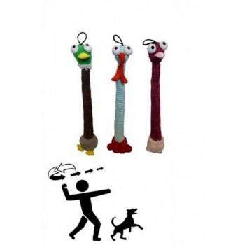 """Papillon / Папиллон Игрушка для собак """"Птички-болванчики"""" плюш, 64см"""