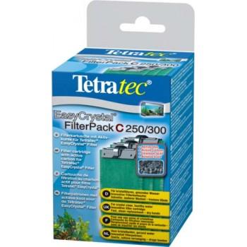 Tetra / Тетра EC 250/300 C фильтрующие картриджи с углем для внут.фильтров EasyCrystal 250/300 3 шт.