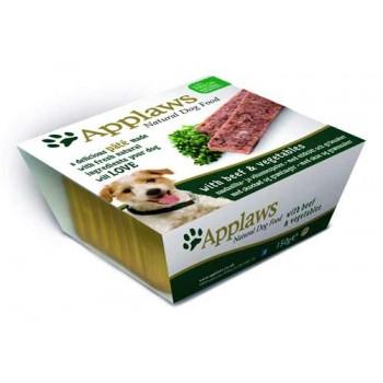 Applaws / Эпплаус Паштет для Собак с говядиной и овощами 0,15 кг