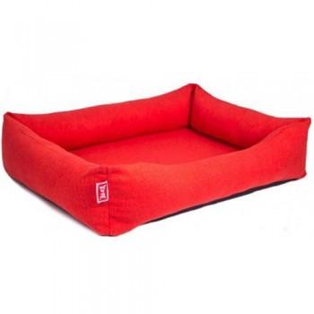 Сибирская Кошка Лежанка Mr. Alex Comfort Plus №3 мебельная ткань (микророгожка) прямоугольная 65*45*20 см
