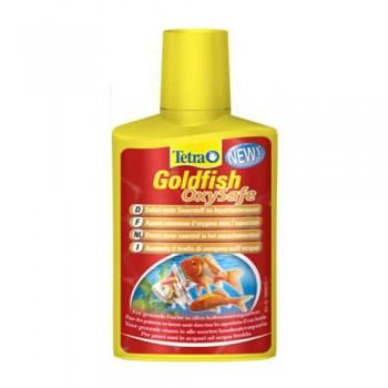 Tetra / Тетра Goldfish OxySafe средство для поддержания уровня кислорода в аквариуме с золотыми рыбами 100 мл