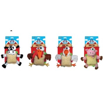 "R2P игрушка для собак Funny Farms ""Сэндвич"" плюш 18 см"