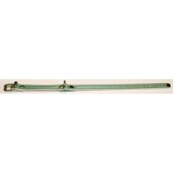 Аркон Ошейник 12, исскуственная кожа, размер 19 - 26 см х 12 мм, цвет зеленый, от12сз (33726)
