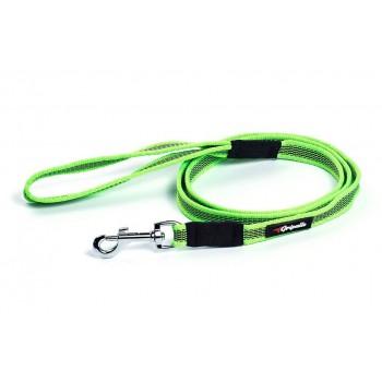 Gripalle / Грипэлле 18-150S 4114 Поводок нейлоновый прорезиненный для собак, стальная фурнитура 18 мм*150 см, Салатовый