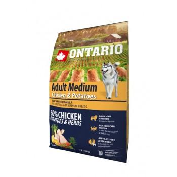 Ontario / Онтарио для собак с курицей и картофелем 2,25 кг
