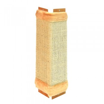 Зооник Когтеточка угловая, ткань сизалевая 500х250х20