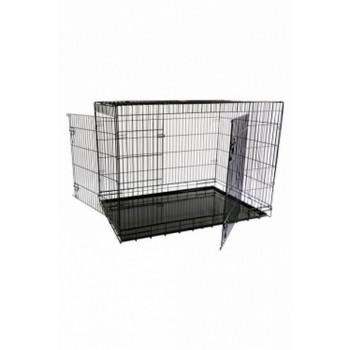 Papillon / Папиллон Клетка металлическая с 2 дверками, 118*78*85 см, черная