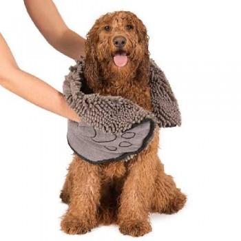 Dog Gone Smart / Дог Гон Смарт полотенце для собак SHAMMY, 33*79 см, серое