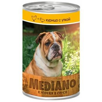VITA PRO MEDIANO Консервы для собак кусочки в соусе курица/утка 405г ж/б /24/ 72164463
