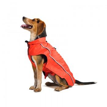 Dog Gone Smart / Дог Гон Смарт Нано плащ-дождевик, флисовая подкладка Nanobraker 8', красный