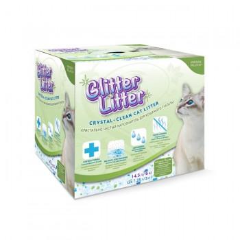 Penn-Plax / Пен-Плакс Наполнитель д/туалета GLITTER LITTER силикагель 14,5л (2х3кг) GL1R