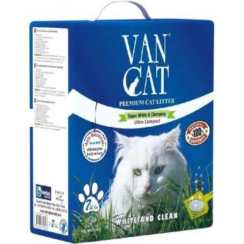 Van Cat Комкующийся Наполнитель с Антибактериальным эффектом, на 7л, коробка (Antibacterial) 6 кг