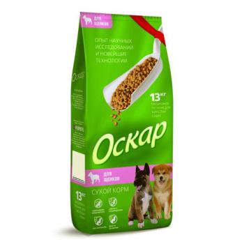 Оскар сух. для щенков 13 кг